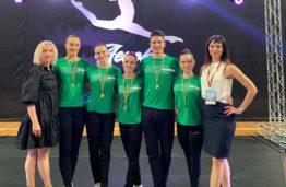 "Golden performance of KTU gymnastics team at ""Summer championship 2021"""