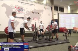 The Champion of World University Classic Powerlifting Cup – KTU student!
